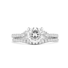 Load image into Gallery viewer, Fana Round Diamond Engagement Ring (0.44 CTW)