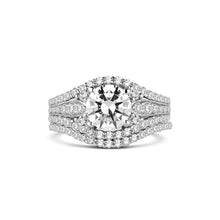 Load image into Gallery viewer, Fana Round Diamond Engagement Ring (0.95 CTW)