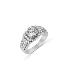 Load image into Gallery viewer, Fana Round Diamond Engagement Ring (0.83 CTW)