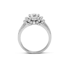 Fana Round Diamond Engagement Ring (0.83 CTW)