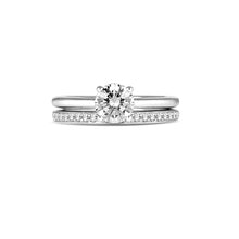 Load image into Gallery viewer, Fana Round Diamond Engagement Ring