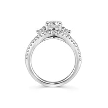 Load image into Gallery viewer, Fana Round Diamond Engagement Ring (0.71 CTW)