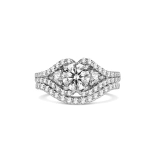 Fana Round Diamond Engagement Ring (0.71 CTW)