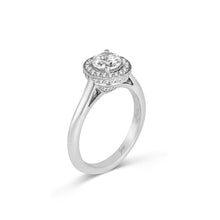 Load image into Gallery viewer, Fana Round Diamond Engagement Ring (0.26 CTW)