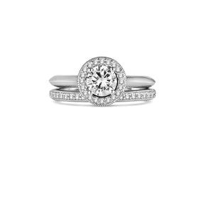 Fana Round Diamond Engagement Ring (0.26 CTW)