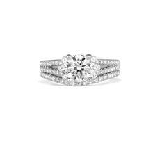 Load image into Gallery viewer, Fana Round Diamond Engagement Ring (0.58 CTW)