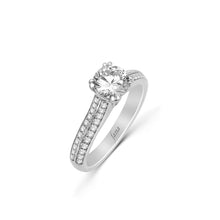 Load image into Gallery viewer, Fana Round Diamond Engagement Ring (0.43 CTW)