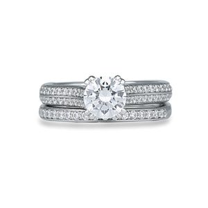 Fana Round Diamond Engagement Ring (0.43 CTW)