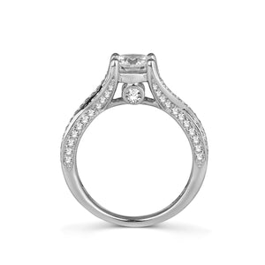 Fana Round Diamond Engagement Ring (0.72 CTW)