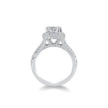 Load image into Gallery viewer, Fana Round Diamond Engagement Ring (0.98 CTW)