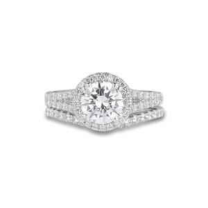 Fana Round Diamond Engagement Ring (0.81 CTW)