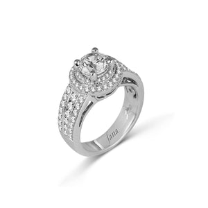 Fana Round Diamond Engagement Ring (1.05 CTW)