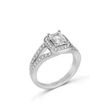 Load image into Gallery viewer, Fana Emerald Engagement Ring (0.49 CTW)