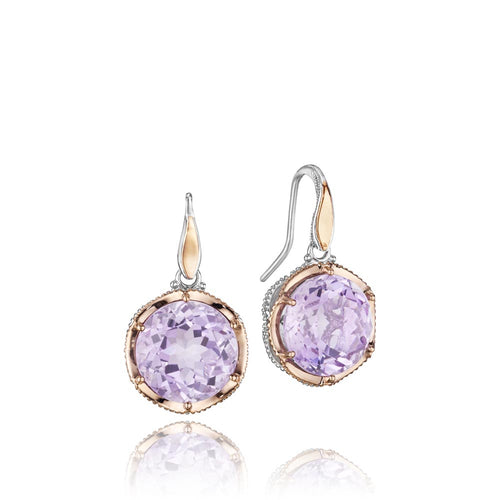 Tacori Lilac Blossoms Gemstone Earring (15.76 CTW)