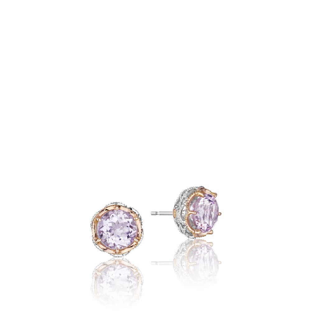 Tacori Lilac Blossoms Gemstone Earring (3.74 CTW)