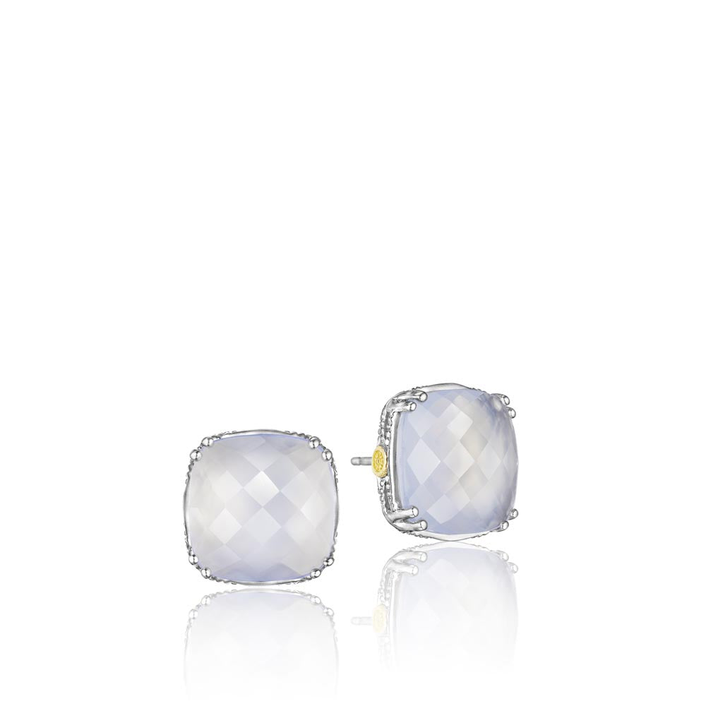 Tacori Classic Rock Gemstone Earring (12.3 CTW)
