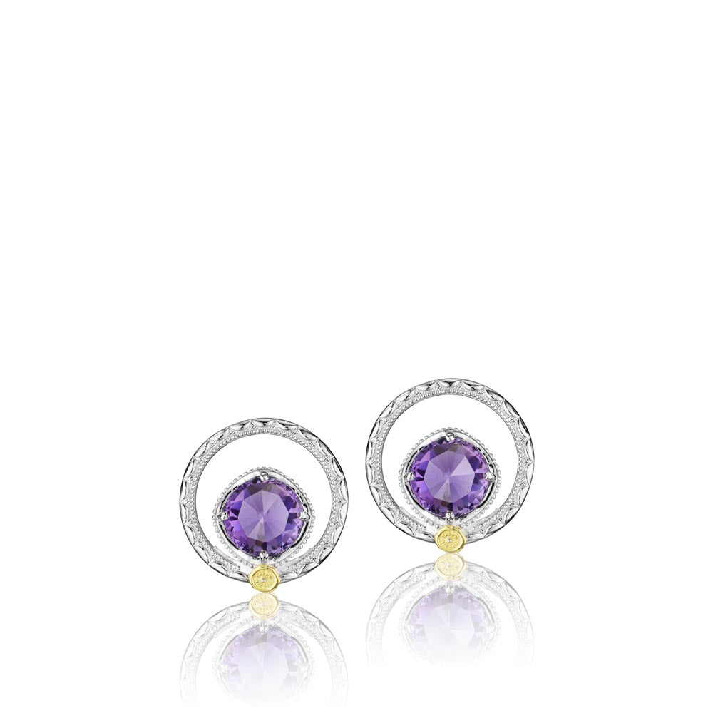 Tacori Lilac Blossoms Gemstone Earring (2.54 CTW)