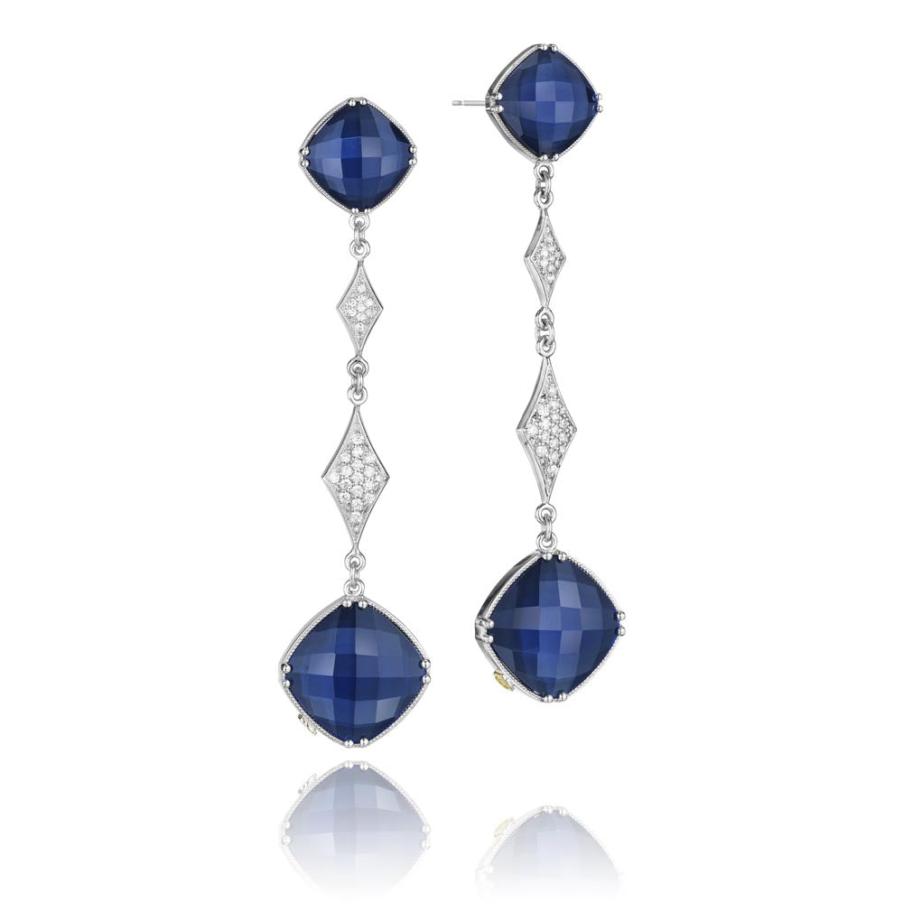 Tacori City Lights Gemstone Earring (22.8 CTW)