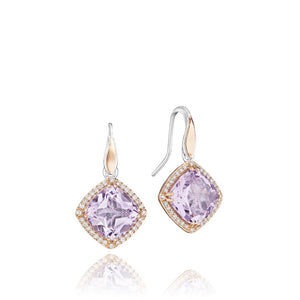 Tacori Lilac Blossoms Gemstone Earring (7.4 CTW)