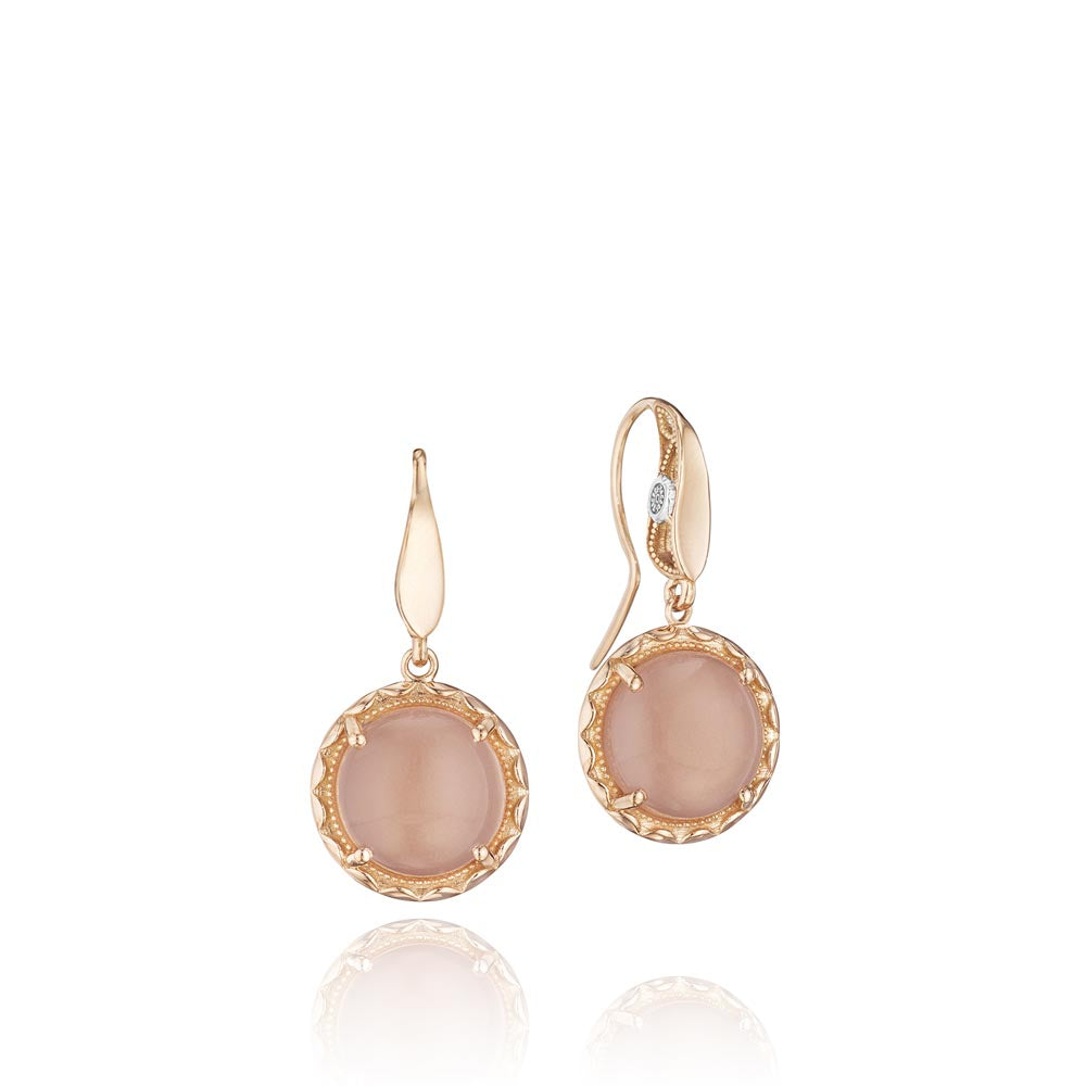 Tacori Moon Rosé Gemstone Earring (5.8 CTW)
