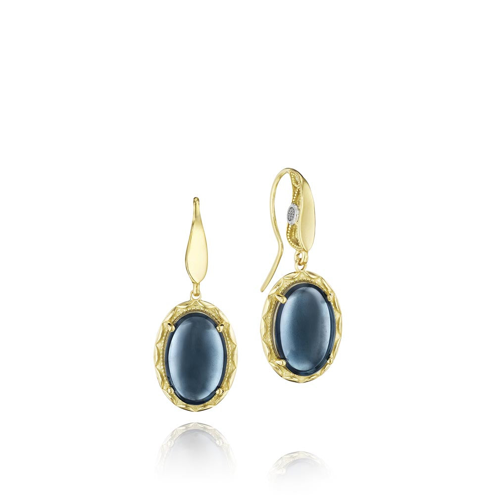 Tacori Golden Bay Gemstone Earring (9.44 CTW)
