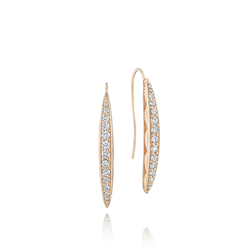 Tacori The Ivy Lane Diamond Fashion Earring (0.89 CTW)