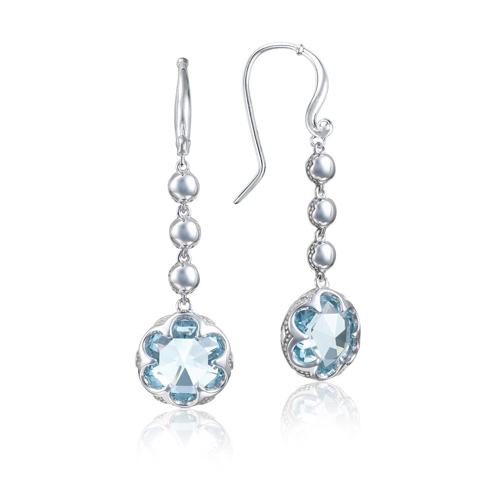 Tacori Sonoma Skies Cascading Drop Earrings featuring Sky Blue Topaz