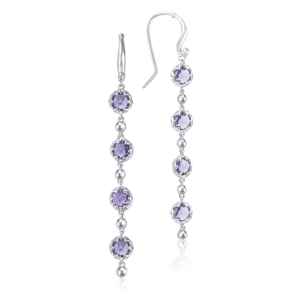 Tacori Sonoma Skies Rain Drop Earrings featuring Amethyst