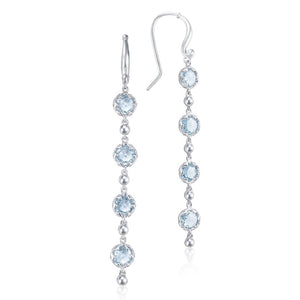 Tacori Sonoma Skies Rain Drop Earrings featuring Sky Blue Topaz