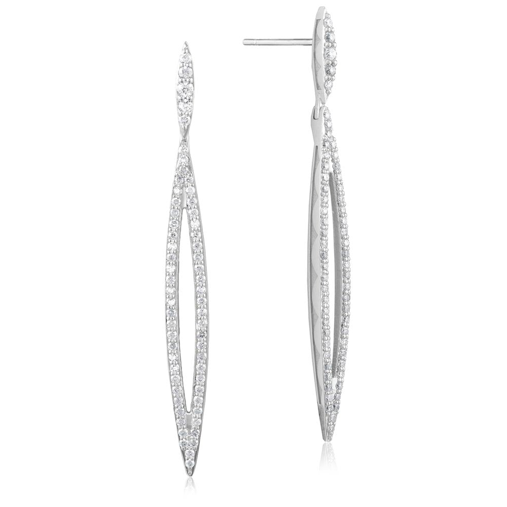 Tacori The Ivy Lane Pave Surfboard Earring