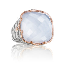 Load image into Gallery viewer, Tacori Classic Rock Woven Crescent Ring SR102P26_10