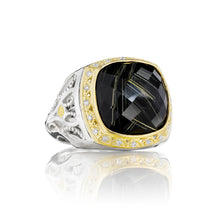 Load image into Gallery viewer, Tacori Classic Rock Pavé Crescent Crown Ring SR103Y15_10