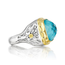 Load image into Gallery viewer, Tacori Island Rains Crescent Crown Ring SR118Y05_10