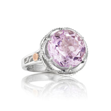 Load image into Gallery viewer, Tacori Lilac Blossoms Crescent Gem Ring SR12313_10