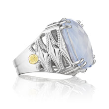 Load image into Gallery viewer, Tacori Classic Rock Bold Woven Crescent Ring SR13126_10