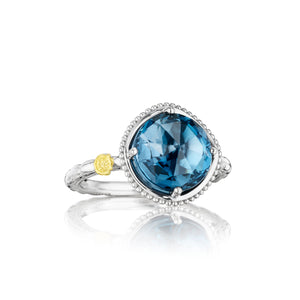 Tacori Island Rains Bold Simply Gem Solitaire Ring SR13533_10