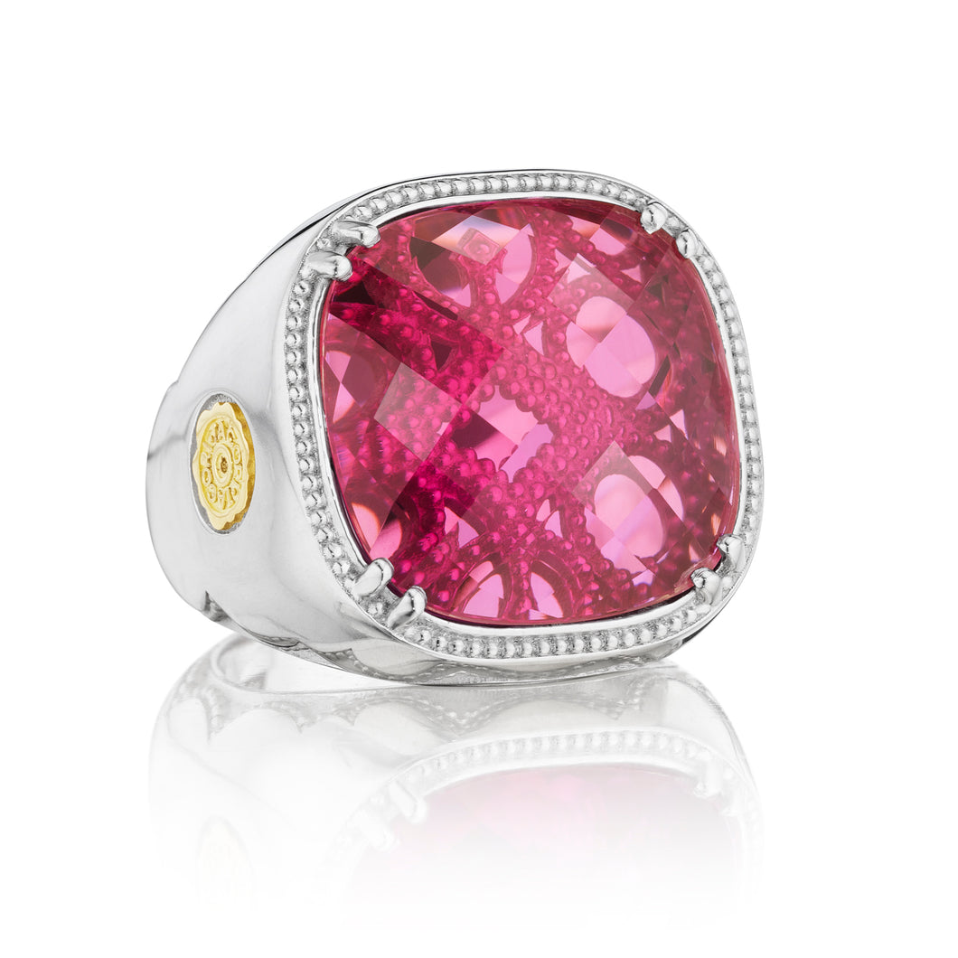 Tacori City Lights Cushion Gem Ring SR14634_10