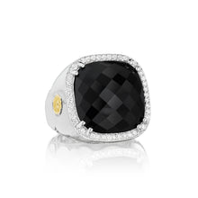 Load image into Gallery viewer, Tacori City Lights Pavé Cushion Gem Ring SR14719_10