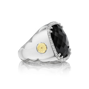 Tacori City Lights Pavé Cushion Gem Ring SR14719_10