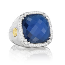 Load image into Gallery viewer, Tacori City Lights Pavé Cushion Gem Ring SR14735_10