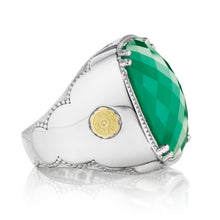 Load image into Gallery viewer, Tacori City Lights Bold Cushion Gem Ring SR14827_10