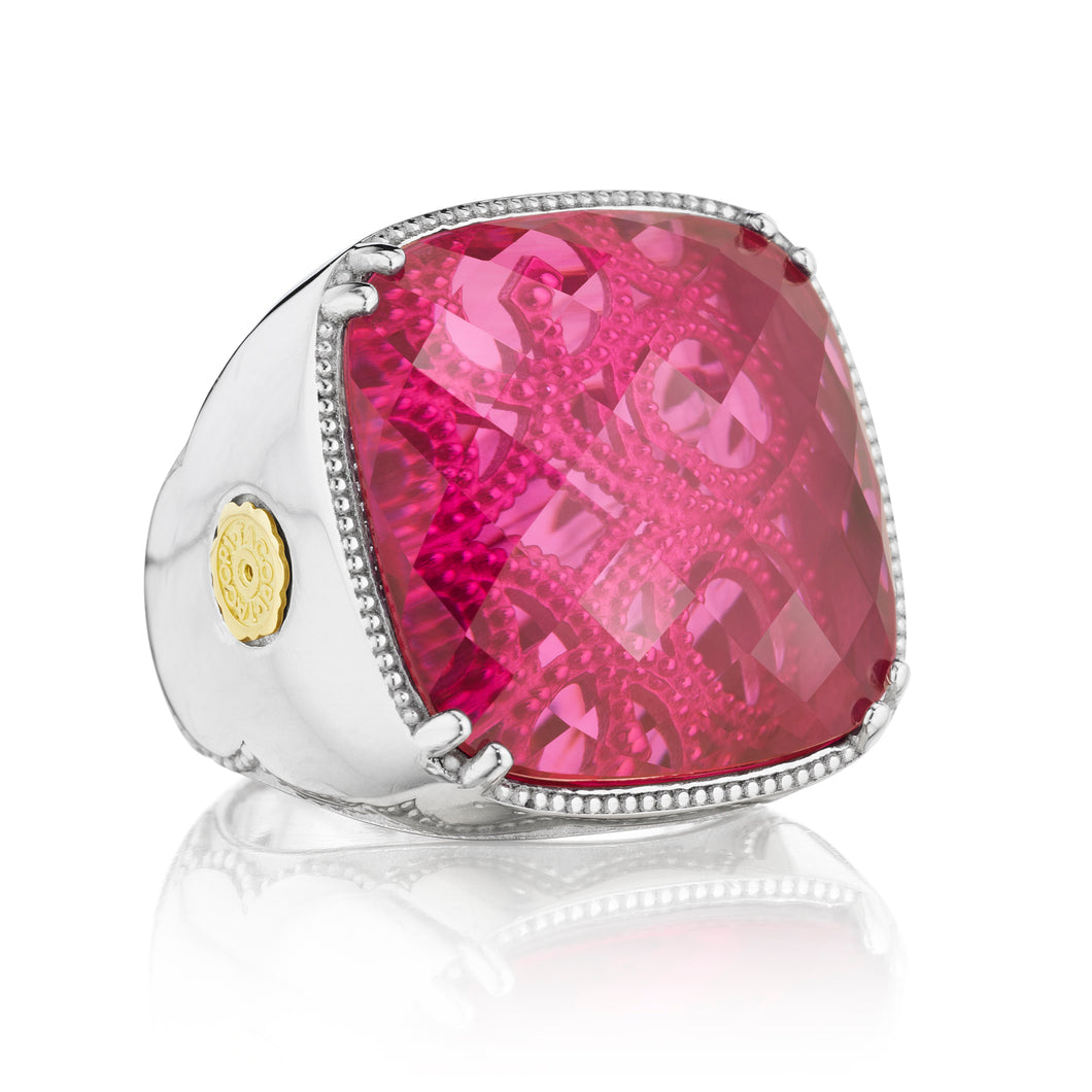 Tacori City Lights Bold Cushion Gem Ring SR14834_10