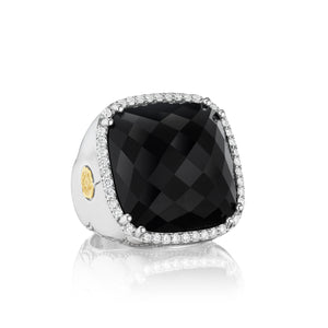 Tacori City Lights Bold Pavé Cushion Gem Ring SR14919_10