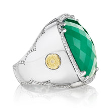 Load image into Gallery viewer, Tacori City Lights Bold Pavé Cushion Gem Ring SR14927_10