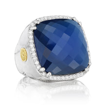 Load image into Gallery viewer, Tacori City Lights Bold Pavé Cushion Gem Ring SR14935_10