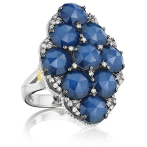 Tacori City Lights Pavé Gem Cluster Ring SR15935_10