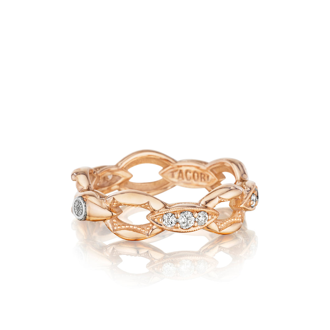 Tacori The Ivy Lane Crescent Links Ring SR184P_10