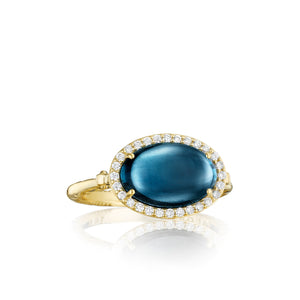 Tacori Golden Bay Oval Petite Pavé Oval Cabochon Ring SR188Y37_10