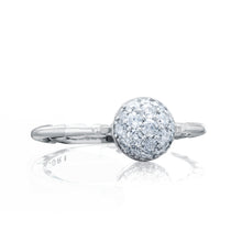Load image into Gallery viewer, Tacori Sonoma Mist Petite Pavé Dew Drop Ring SR189_10