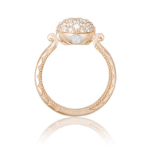 Load image into Gallery viewer, Tacori Sonoma Mist Pavé Dew Drop Ring SR190P_10
